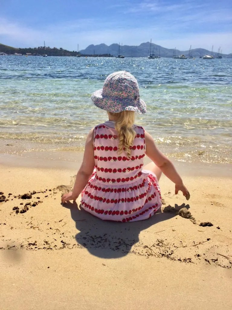 best things to do with kids in Majorca, best beaches for kids