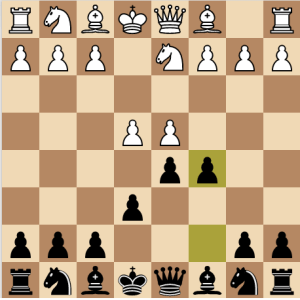 Open System of Tarrasch Variation - Black Chess Opening