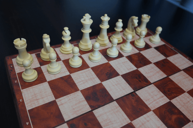 Chess Board Setup Picture for White