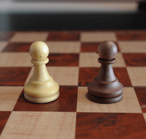 Pawn on a Chess Board