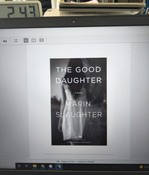 The Good Daughter by Karin Slaughter second cover