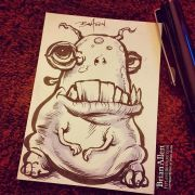 Fat little creature ink stetch