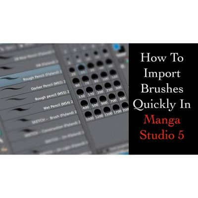Here's a quick and easy method to drag all of your brushes into Manga Studio 5 (Clip Studio Paint) and import them all at once.https://youtu.be/m__yCFJWdvw