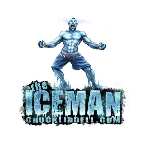 Logo design for Chuck Liddell by freelance illustrator Brian Allen