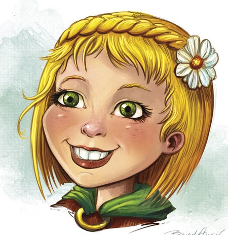 Lullaby Children's Book Illustration