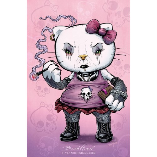 Goth Hello Kitty