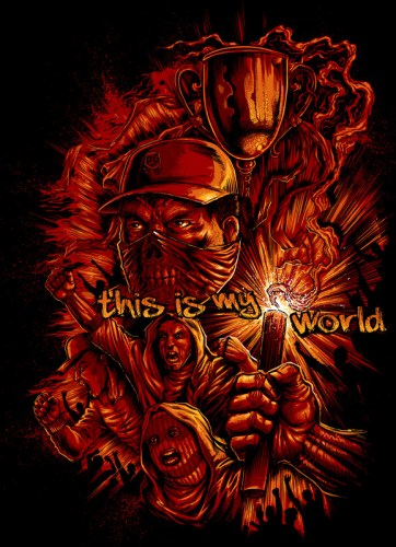 This Is My World - Ultras artwork for PG Wear