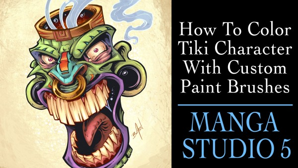 Full Coloring Tutorial In Manga Studio 5 Clip Studio Paint