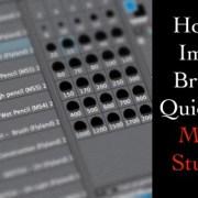 How to import Brushes into Manga Studio 5