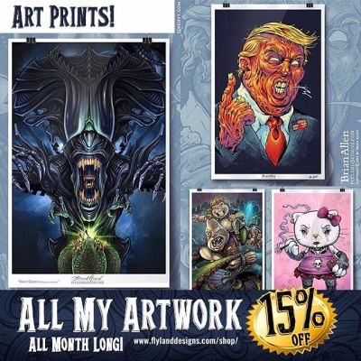 Fill that hole inside of you by buying more stuff!  All my favorite artwork is availble as signed high-quality art prints from my website - and it's all on sale until the end of the month.  Thanks for your support this year! http://www.flylanddesigns.com/shop/ #artprints #sale #artgift #darkartwork