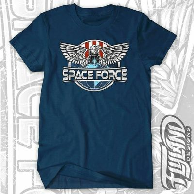Support the Space Force of tommorrow, today by grabbing the Space Force t-shirt I designed. Because in space, no one can hear you freedom.https://traxlertees.com/products/space-force-unisex-t-shirt  #spaceforce #emblem #patchdesign #patchart #patriotic #eagleart