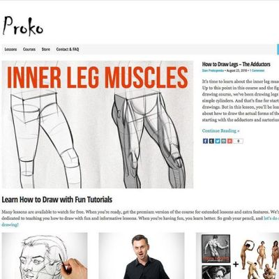 I found this website interesting, do to it showing the anatomy of the body and different ways definition can be added to your illustration. What other sites are out there that can help improve your drawing skills?https://www.proko.com/#anatomy #figuredrawing #arttips #tutorials #artresources #artschool #arthelp #arttools