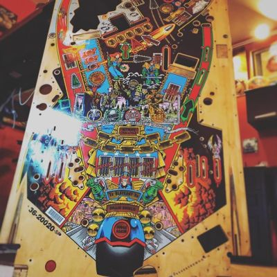 This is one of the most unique projects I've had in a while: I've been comissioned by a private collector to transform this old Judge Dredd pinball playfield into an unofficial Breaking Bad theme! They mailed it over to me - I photographed it and digitized it, and I've been drawing characters from the show all over it. The final prodcut will be printed on vinyl and applied. I'm about half finished. Can't wait to share!#pinballart #pinballartwork #pinball #pinballmachine #playfield #backglass #freelanceart