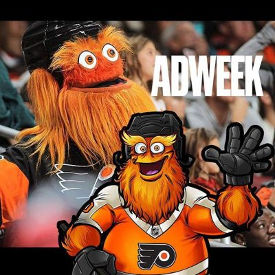 Gritty, the new Flyers mascot I drew the concept art for, was featured in Adweek as the #2 Best Marketing Stunt of the year! Congrats to the Flyers marketing team for making that happen!  https://bit.ly/2rIIoNe#philadelphiaflyers @grittynhl #nhl #hockey