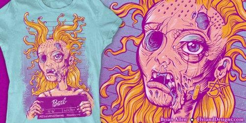 Meth Head Barbie T-Shirt