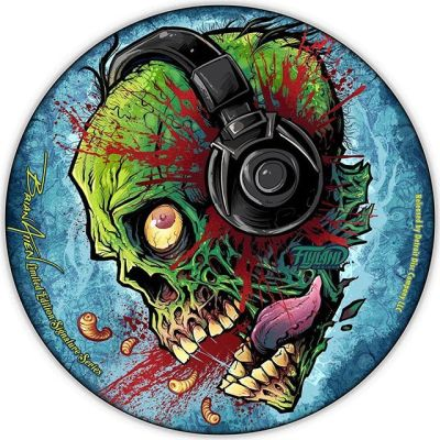 Taking orders now on my Zombie Headphones March's LE Artist Series disc. Printed on Metallic Foil, on high-quality Discraft discs. Only 50 will ever be made. Only the 10 I sell directly will have my signature. Hand numbered and signed COA included. I found a way to reduce the production costs, so I reduced the price to $32.99. PM me or grab one in the shop. Who wants one?#discgolf #frisbeegolf #discraftdiscs #teamdiscraft #detroitdisccompany #disc