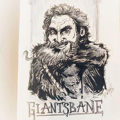 Handsome Devil 🧡.....#gameofthronesart #sketch #pentelbrushpen