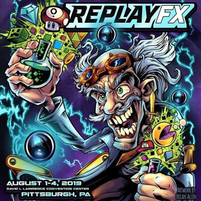I'm going to be at Replay FX next week in Pittbsburgh - I made this promo using some arcade artwork I had already created, thought it captured the event well. There's going to be tons of arcade games, pinball machines, music, food, and a large tournament. Anyone from the Pittsburgh area coming?#replayfx #downtownpittsburgh #pittsburghevents #arcadeart #retrograming #pinballart #pinballartwork #pinball #pinballmachine