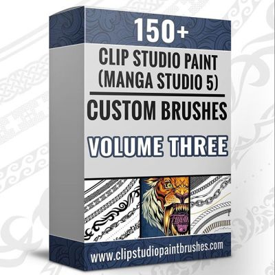 Volume 3 of my Clip Studio Paint brushes has been my most popular set so far, thank you!There are over 150 brushes in the set, including repeating pattern brushes, animal print, foilage brushes, pastels, inkers - all kinds of brushes and textures I use every day in my work.http://clipstudiopaintbrushes.com/•••#clipstudiopaint #csp #digitalart #digitalpainting #brushes #texturebrushes #mangastudio #illustration