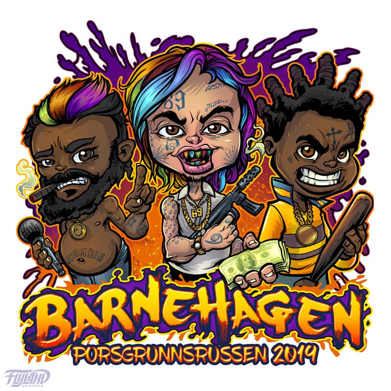 Hip hop ganster Children who are