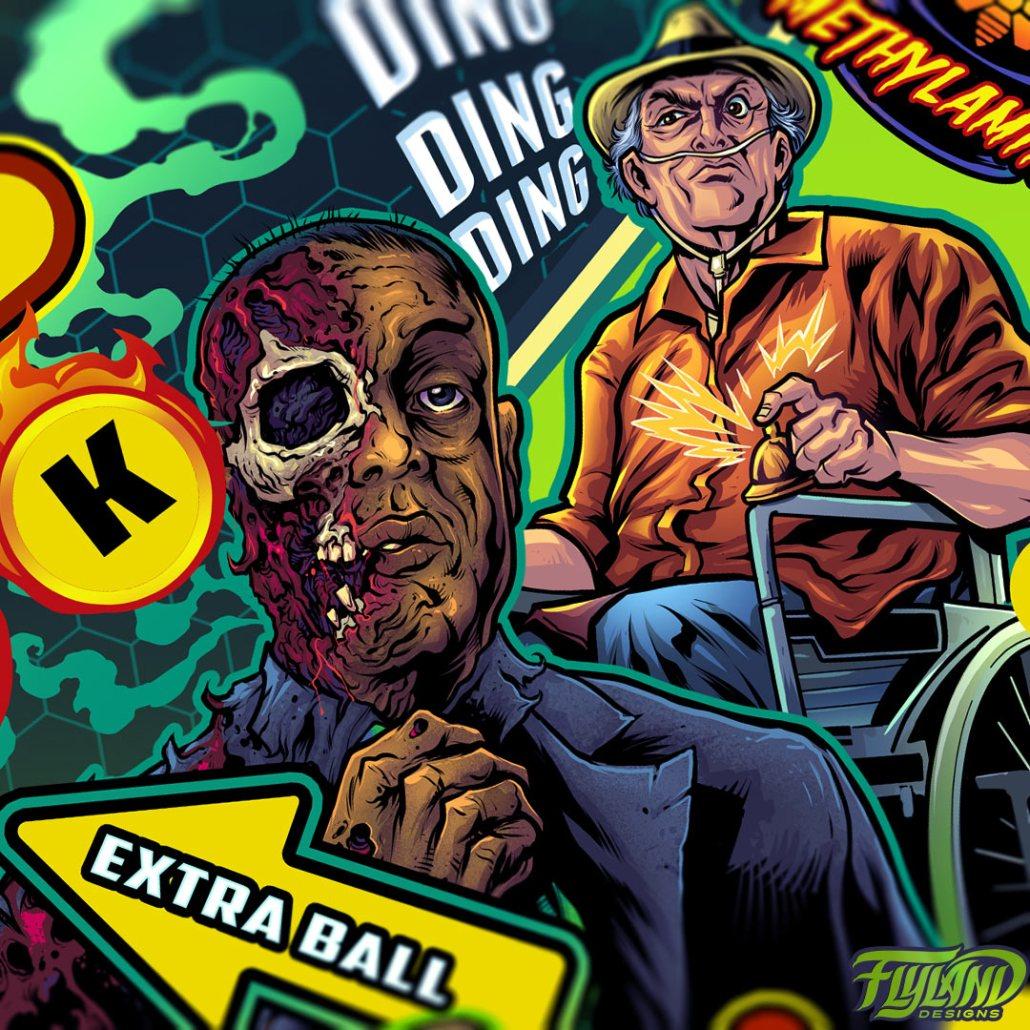 Breaking Bad Pinball Playfield I