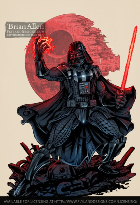A fun recreation of Darth Vader