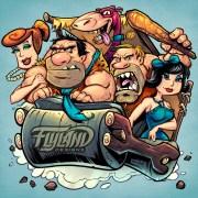 Parody illustration of the crew