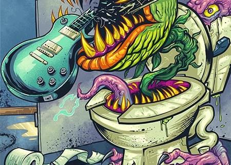 Strange venus fly trap monster e