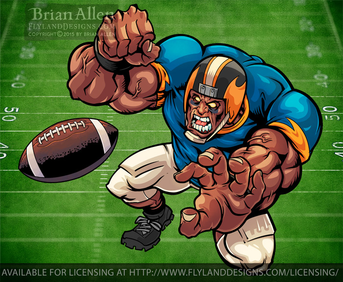 Football Mascot 02