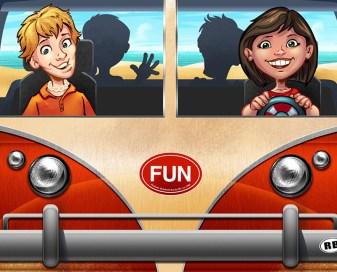 Graphic Wrap for Amusement Park Ride
