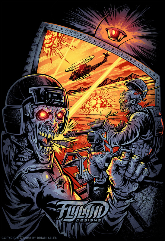 Helicopter Zombies