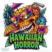 Cool beach Skeleton Logo Design
