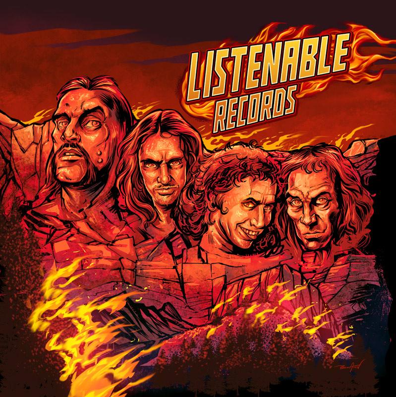 Lemmy, CliffBurton,Ronnie Ja