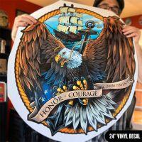 Vinyl Decals die-cut for outdoor