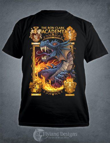 Dragon Mascot T-Shirt for Academy