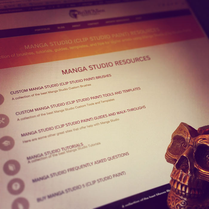 Manga Studio Resources Page