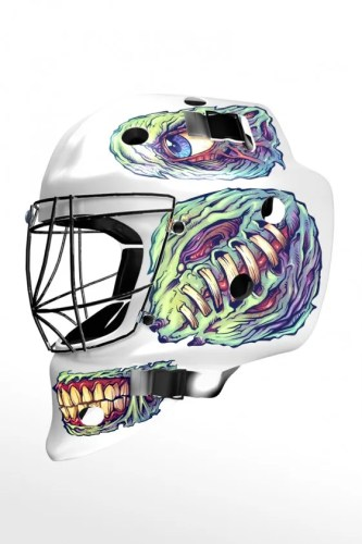 Custom Hockey Helmet decals