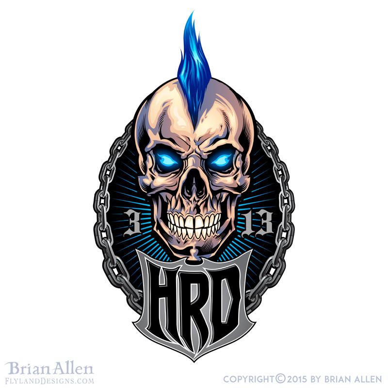 Custom logo design I created for