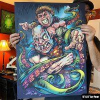 Large Art Print Artwork by Brian