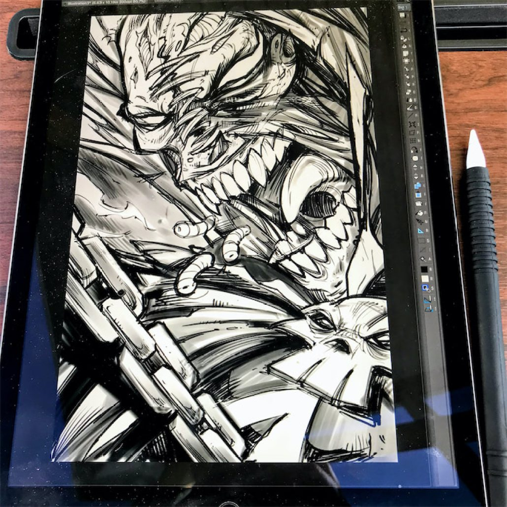 Spawn Tribute Illustration for 2