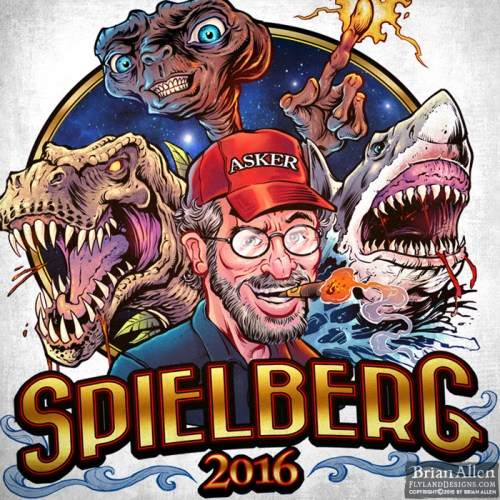 llustration of Spielberg's fam