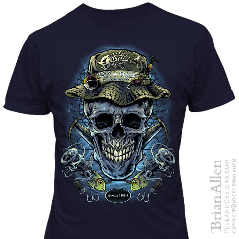 24fb92521b701 Take A Break Clothing T-Shirt Designs - Flyland Designs, Freelance ...
