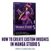 Video tutorial of how to create custom brushes in manga studio 5
