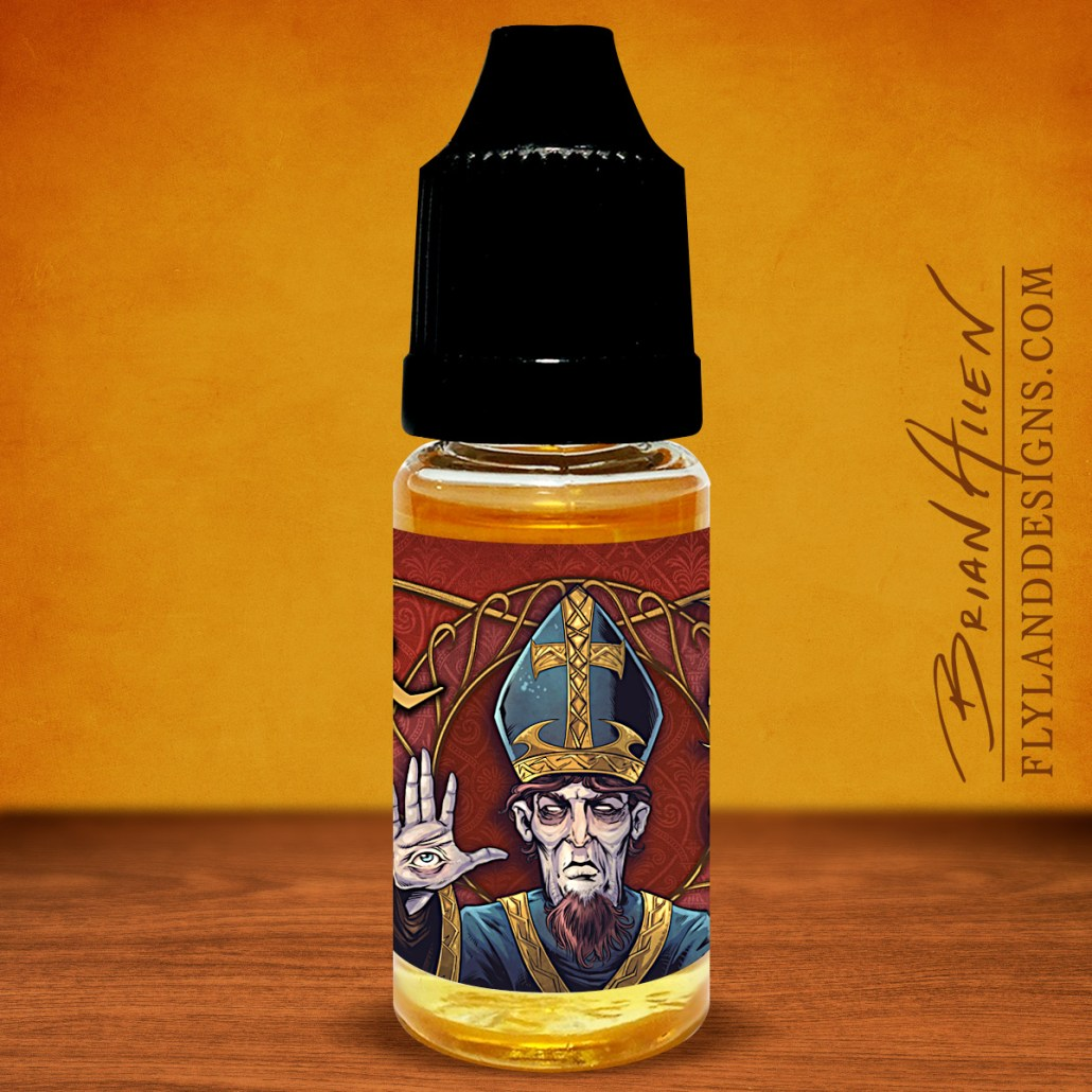 Chess Medieval Themed Vaping eJuice Labels