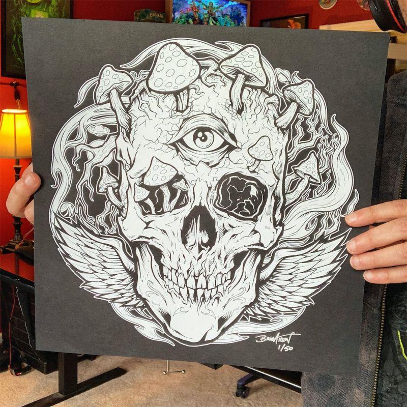 Artwork by freelance illustrator