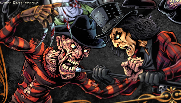 Freddy Vs. Alice Cooper Character Design