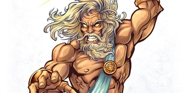 Zeus Comic Book Character design