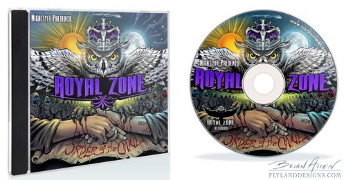 Album Cover and CD Label