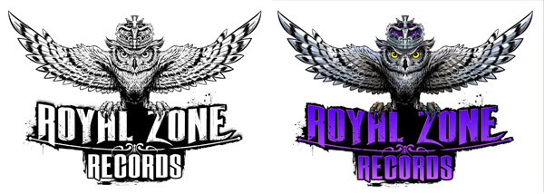 Album cover design for Royal Zone Records Logos