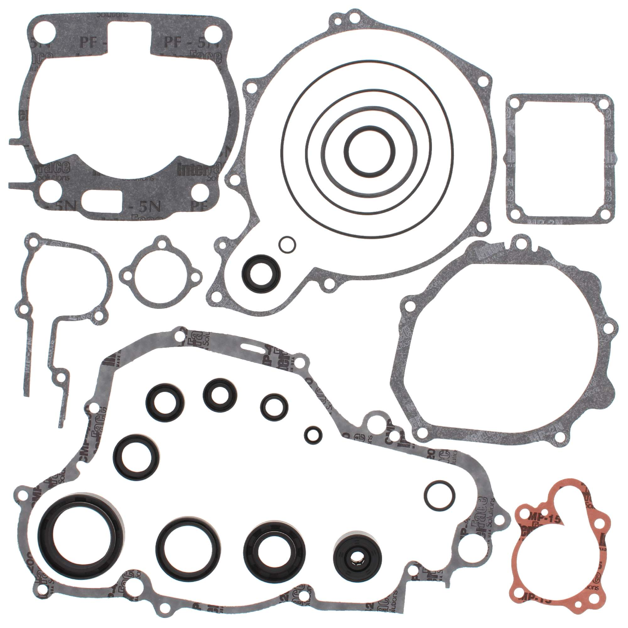 Vertex Complete Gasket Kit With Oil Seals For Yamaha Yz250